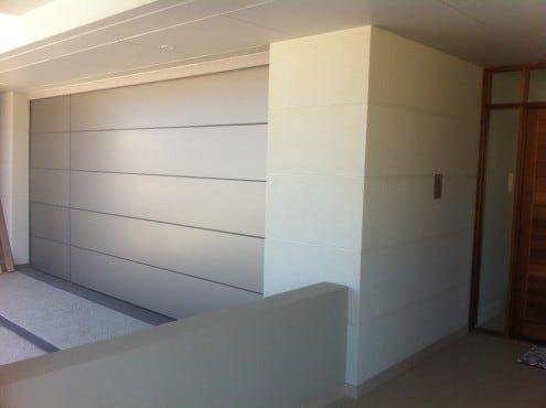 Titan White Composite panel - Custom Sectional Garage Door