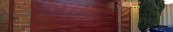 Wood Look Garage Door Ribline