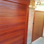 Wood Look Garage Door