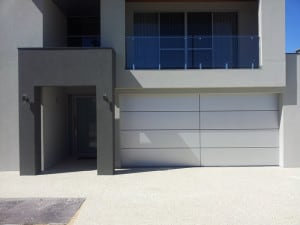 Custom Sectional Slimline Garage Door