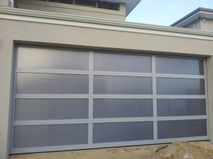 Custom Sectional designed Garage Door