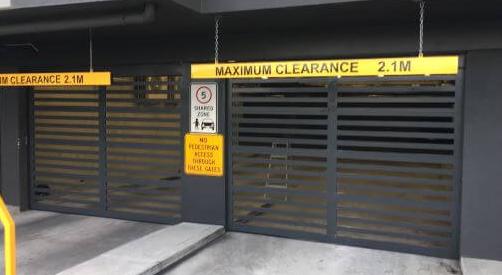 Aluminum Bar Grille Panel - Garage Door - Commercial Door - Gryphon