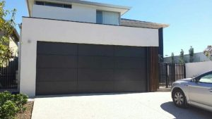 custom Design Aluminum Composite Charcoal Garage Door