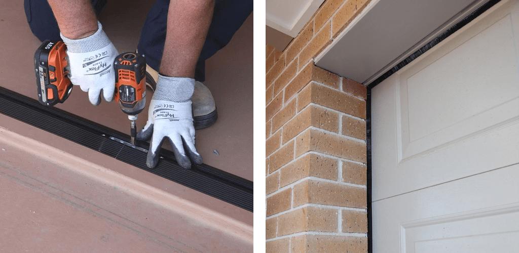 Garage door seals - threshold seals, side and top seals