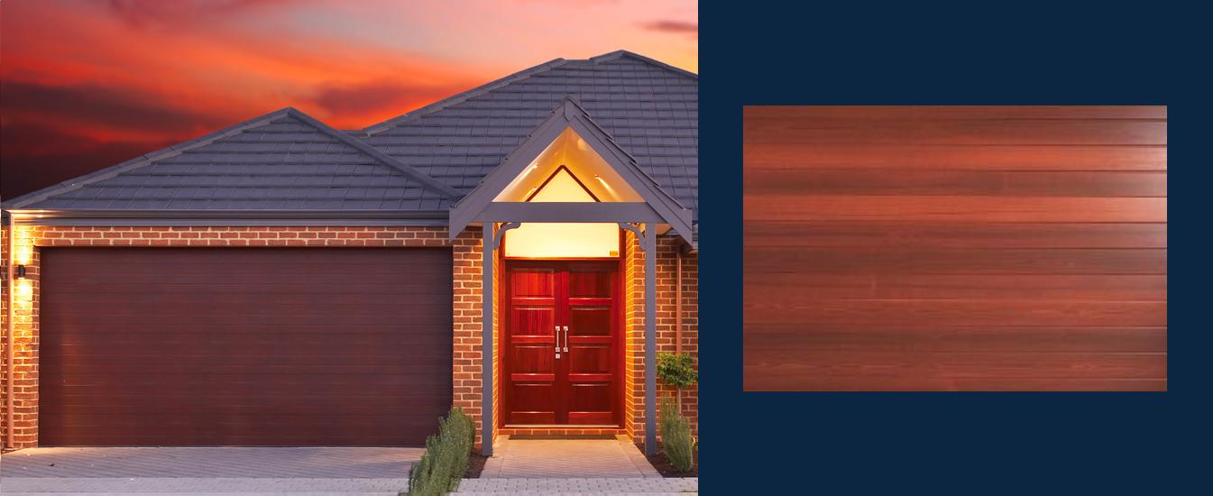 Gryphon-Ribline-woodlook-garage-door
