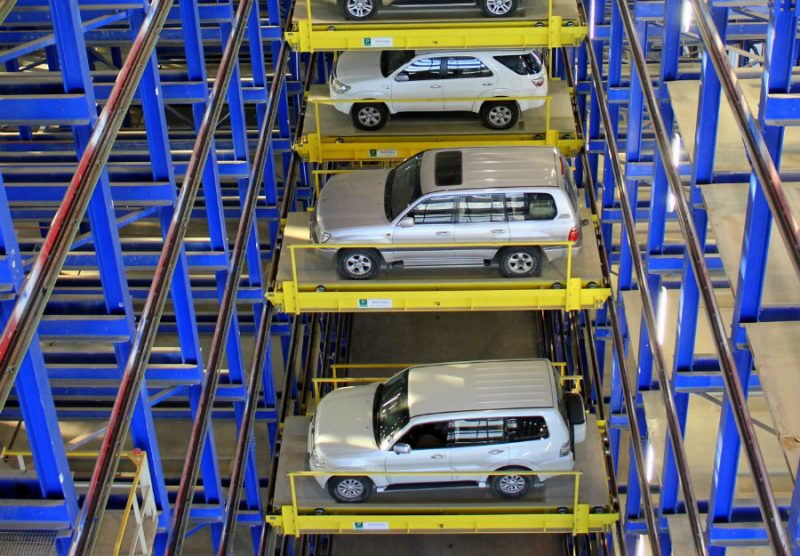 Most Interesting Car Parks in The World - Al Jahra Court Automatic Parking, Kuwait