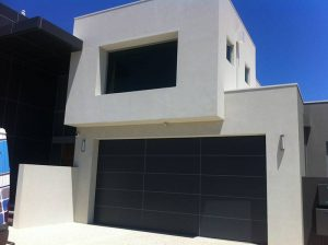 Custom aluminium garage door