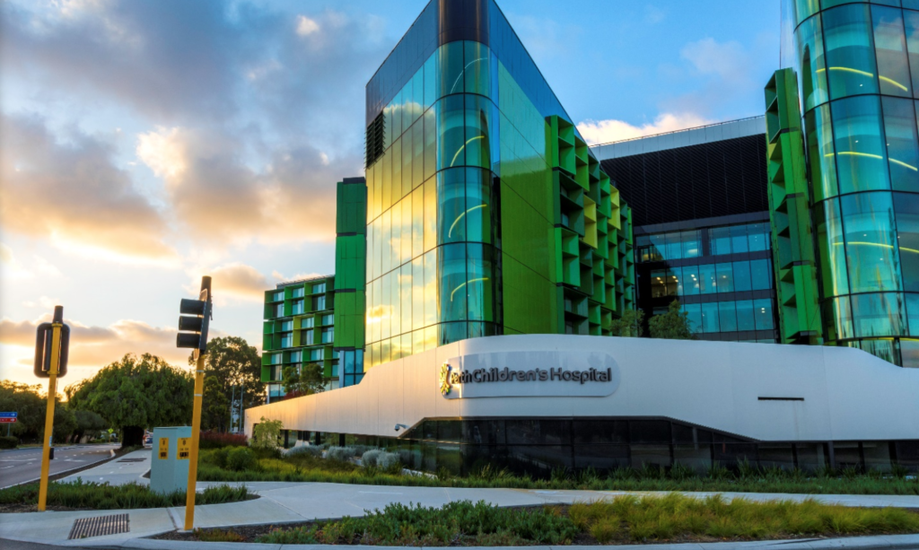 Perth Children hospital founded in 2018