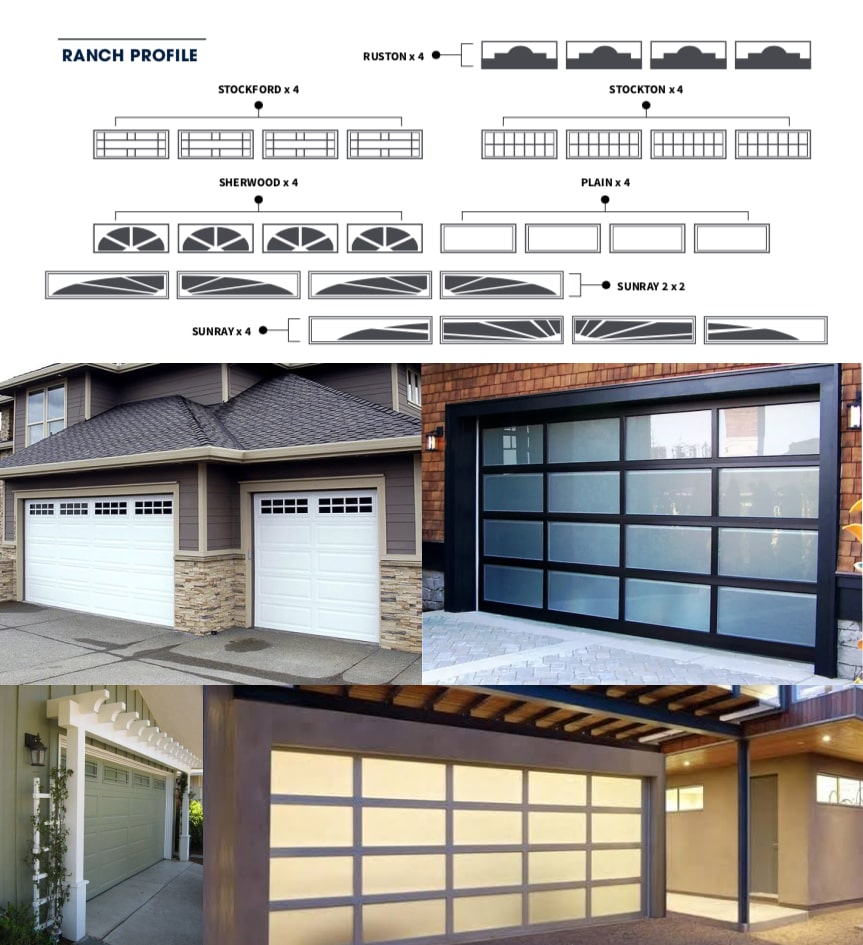 A Guide to Window Inserts on Garage Doors