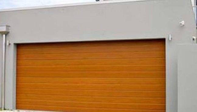 Sectional Wood Look Doors