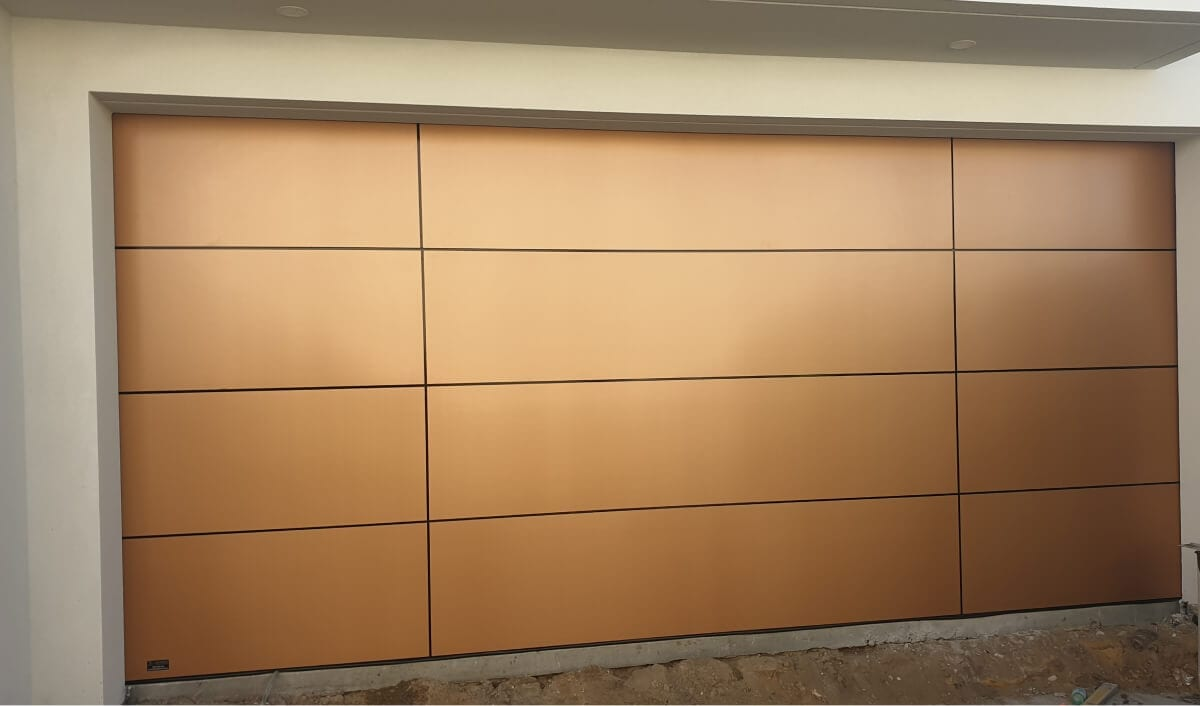 Custom Door Trojan Bronze Composite