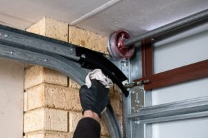 Garage door maintenance Checklist - cleaning your tracks