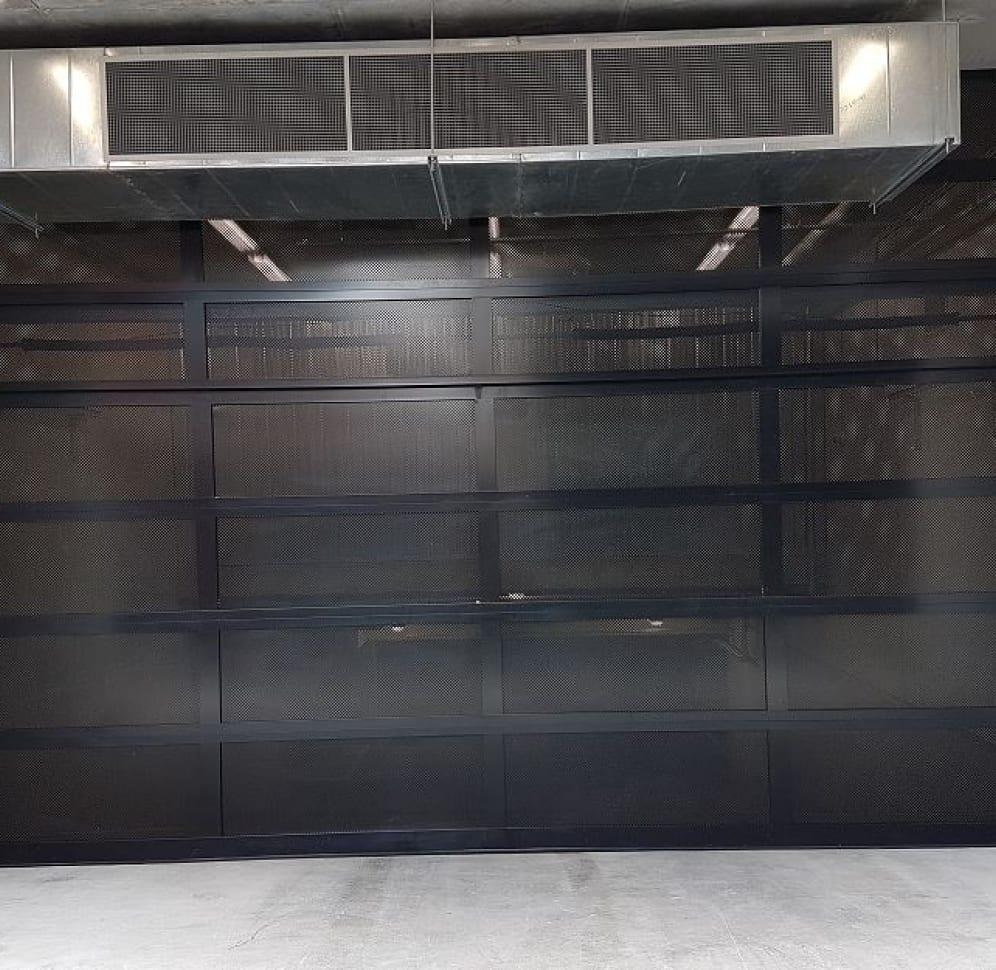 Custom Sectional Doors - ventilated options