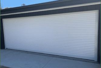 roller door white