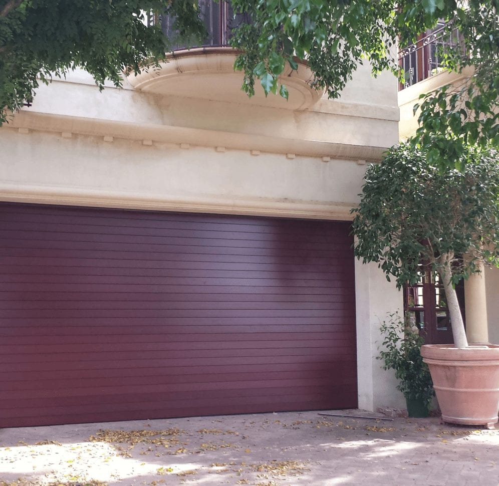 Timber garage door - Sectional door